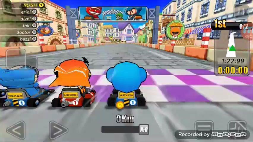 【跑跑卡丁车】【远古视频】跑跑卡丁车 RUSH游玩视频