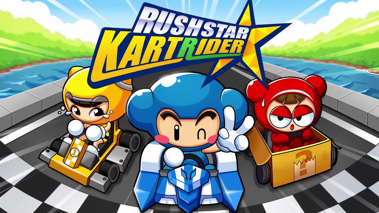 【跑跑卡丁车】【远古视频】跑跑卡丁车 RUSH STAR宣传视频