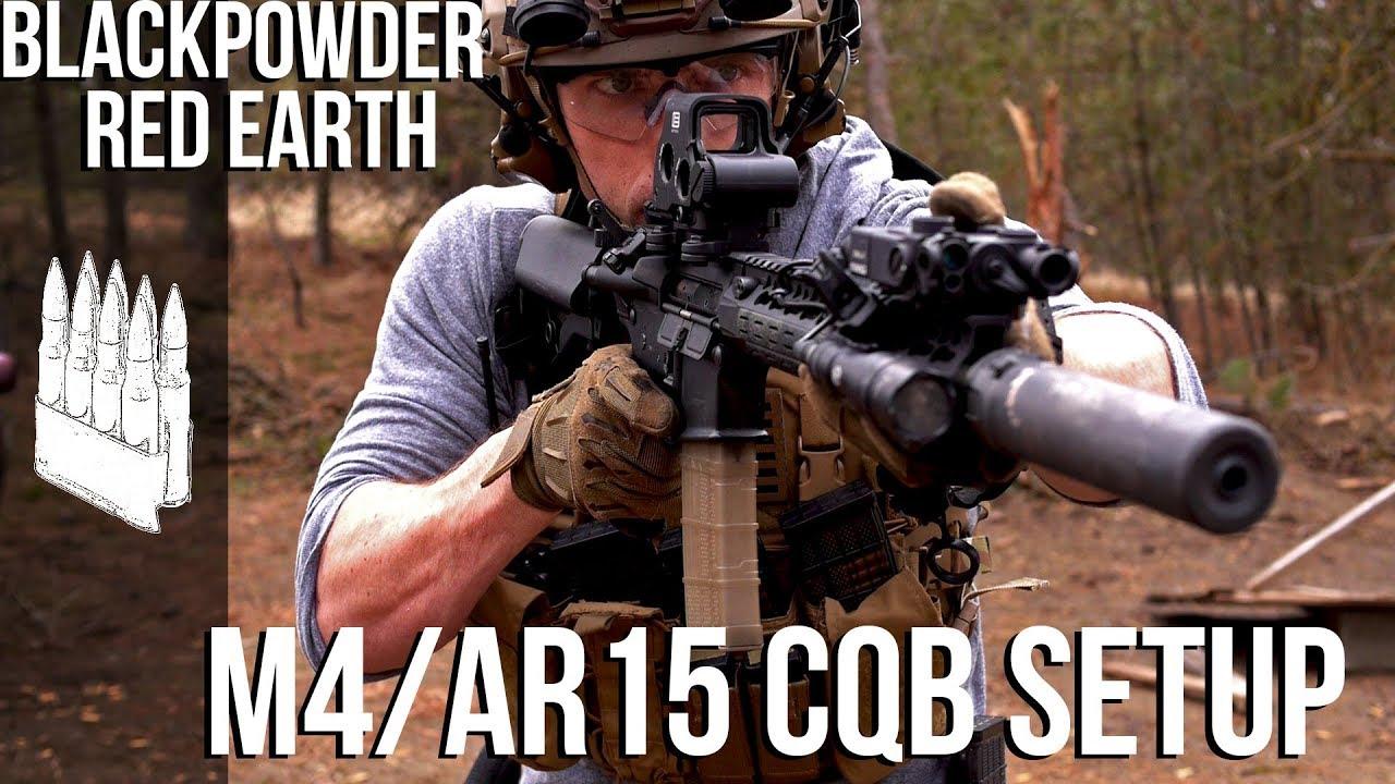 中文字幕【Garand Thumb】CQB AR15 搭配教学《黑药红土》同款