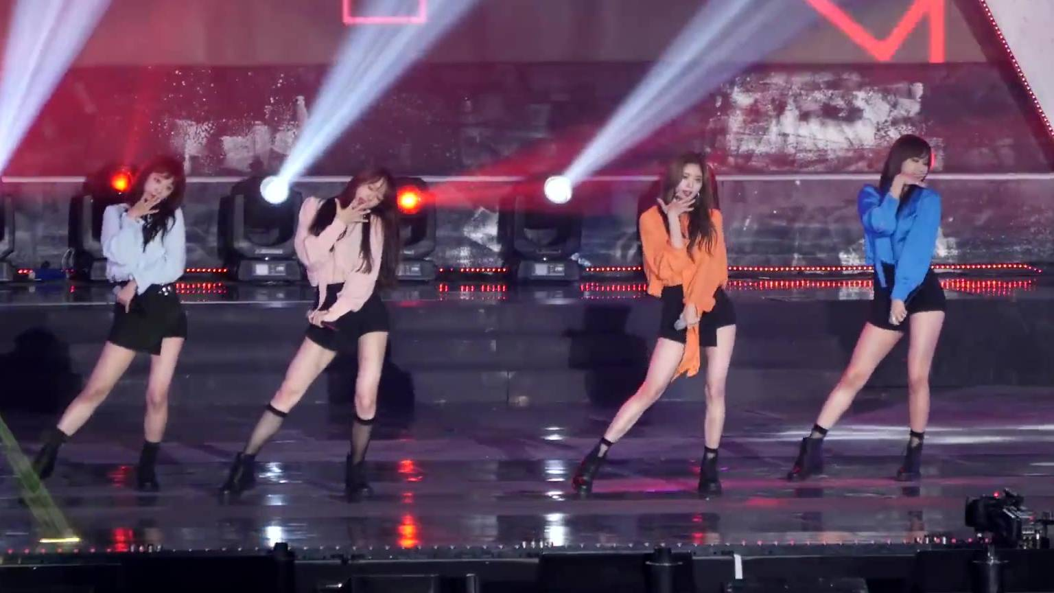 EXID上下(UPDOWN)直拍Fancam(韩国音乐节)