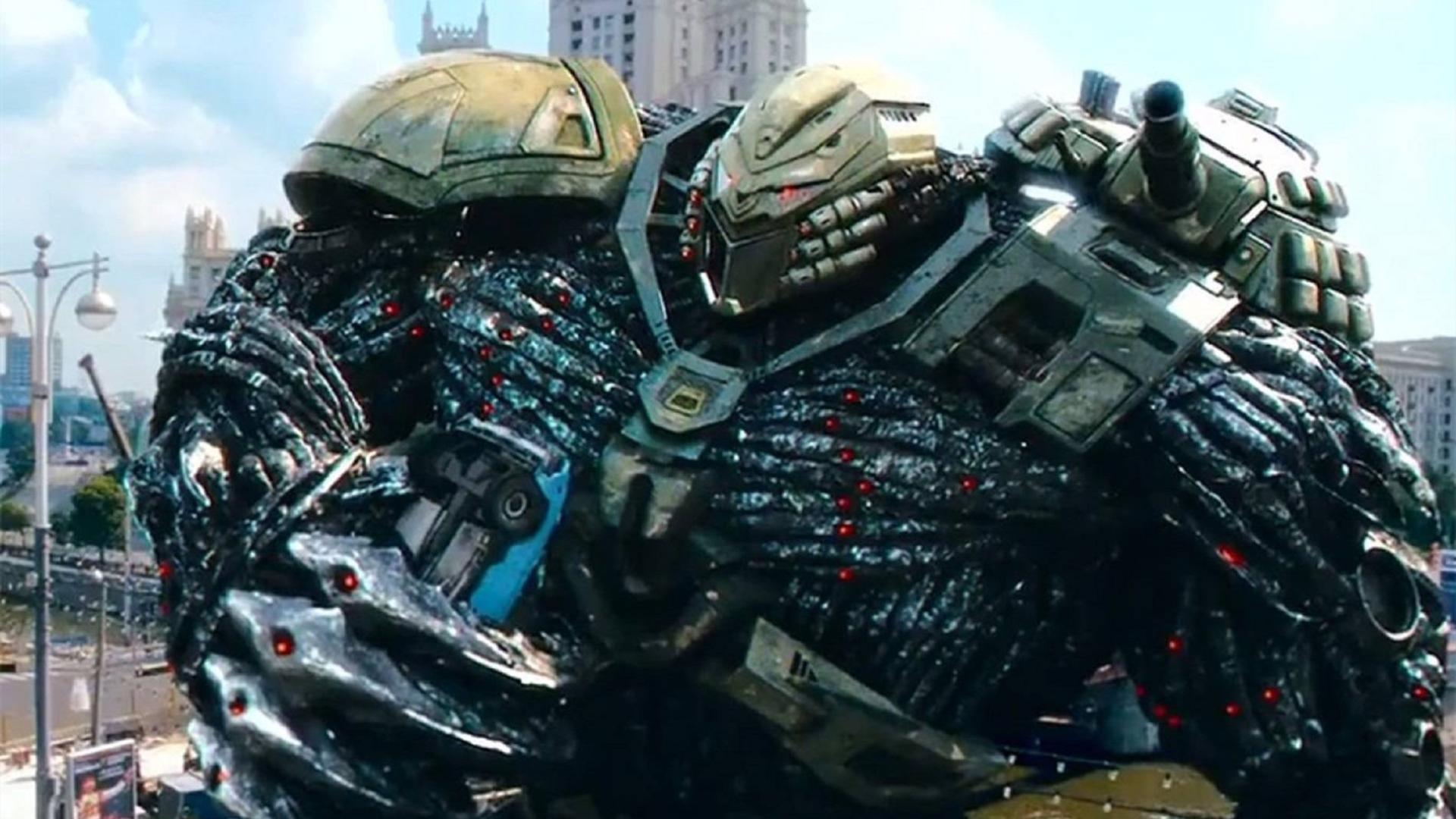 俄式暴力美学战争科幻片,超巨型机器人破坏城市,看的人热血沸腾
