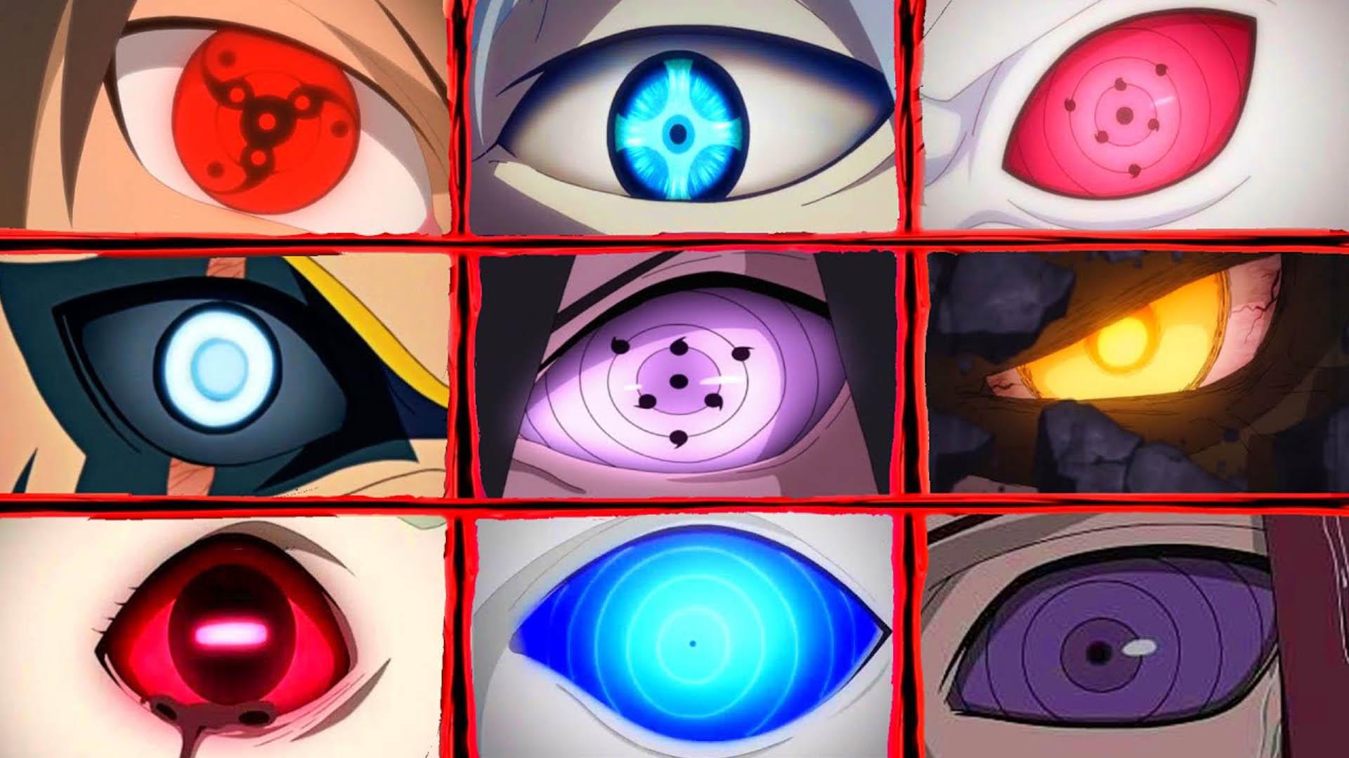 《火影忍者》中出现过的所有瞳术!