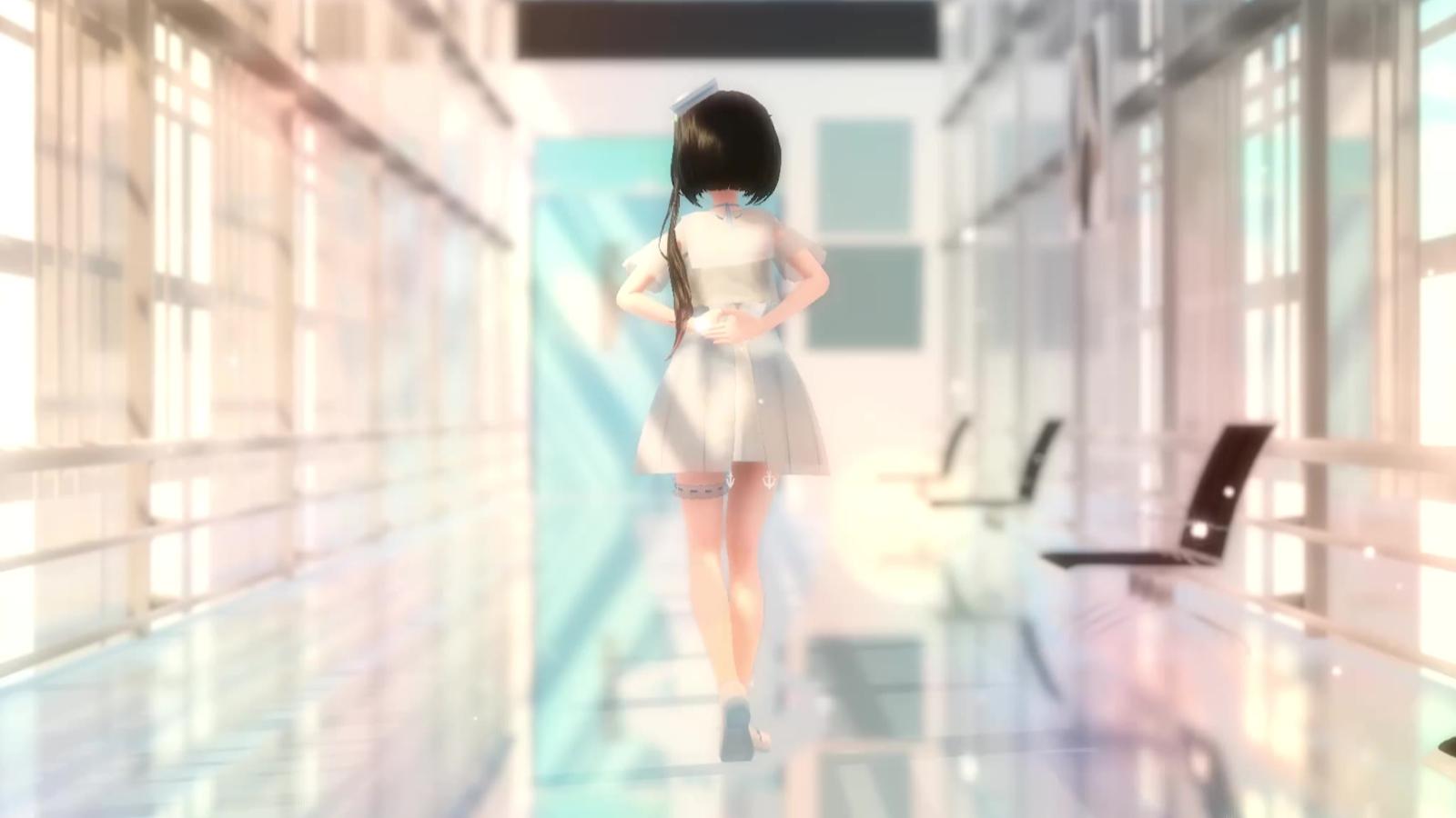 【MMD】冷鸢 触摸天空