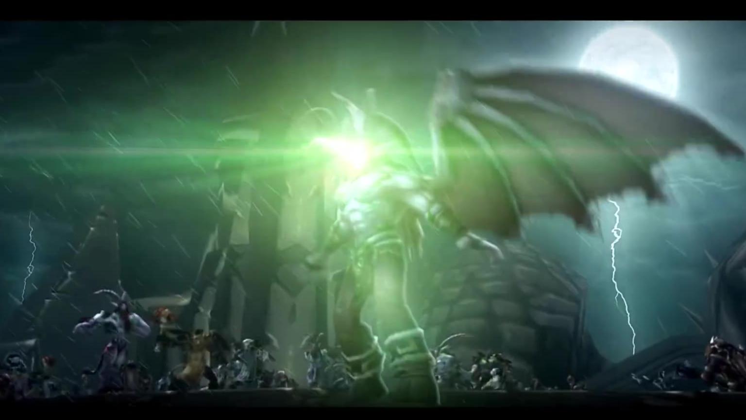 魔兽世界之燃烧的远征《黑暗神庙》2020重制版