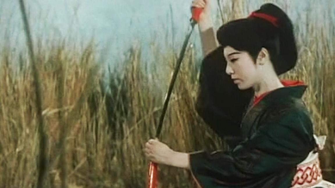 江户时代风情画,美女剑客养成记,冷门剑戟片【笑傲江湖·盲女剑】