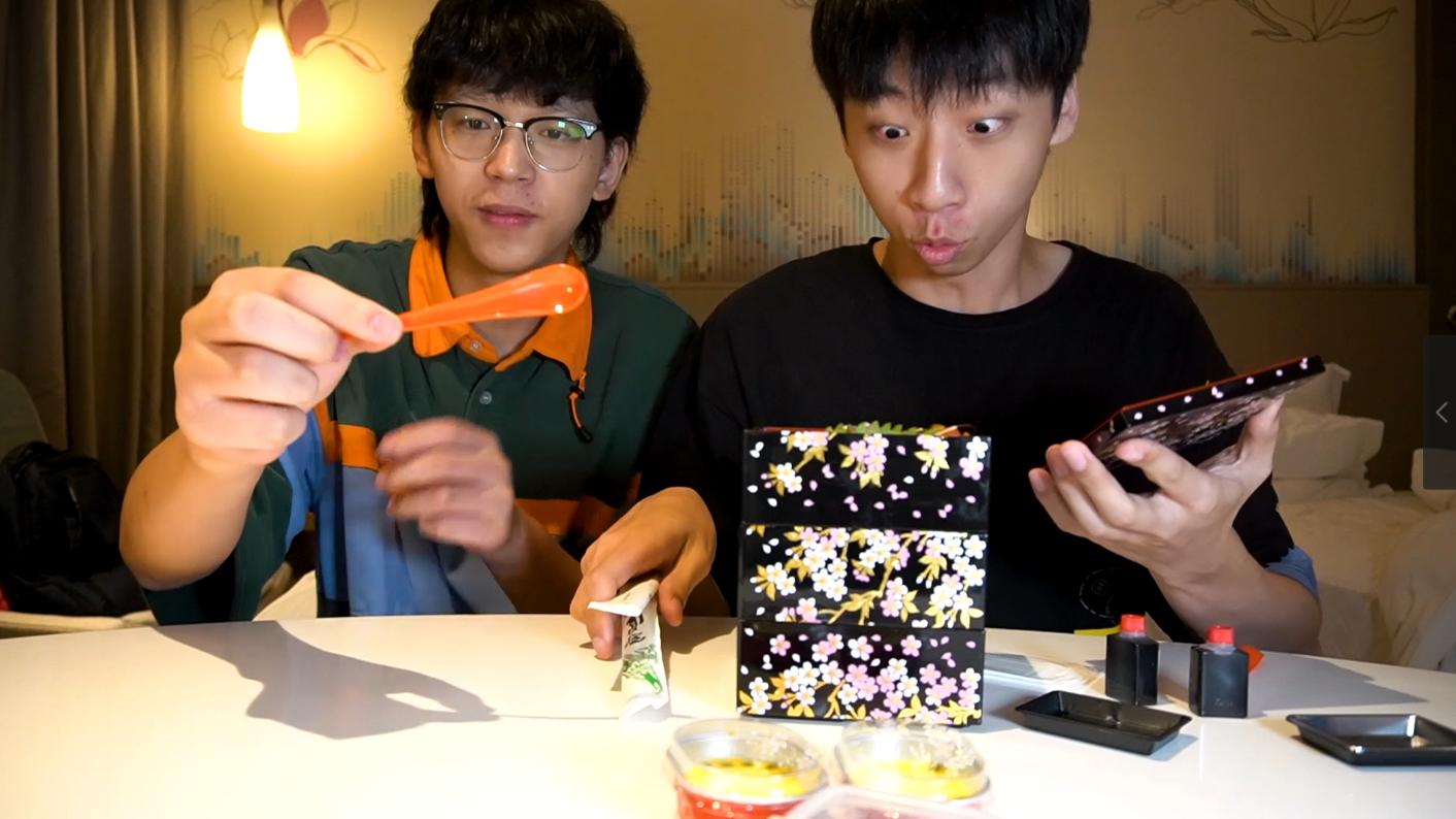 请贤宝宝吃598元一份的日式便当,要提前四小时预约才能吃,真的好吃吗?