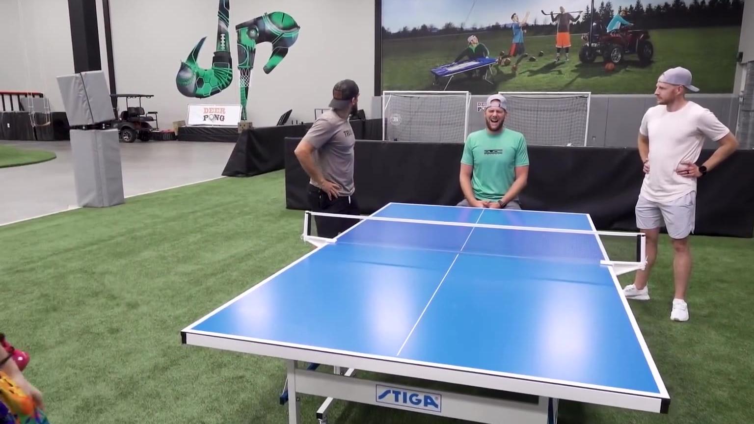 花式乒乓球挑战