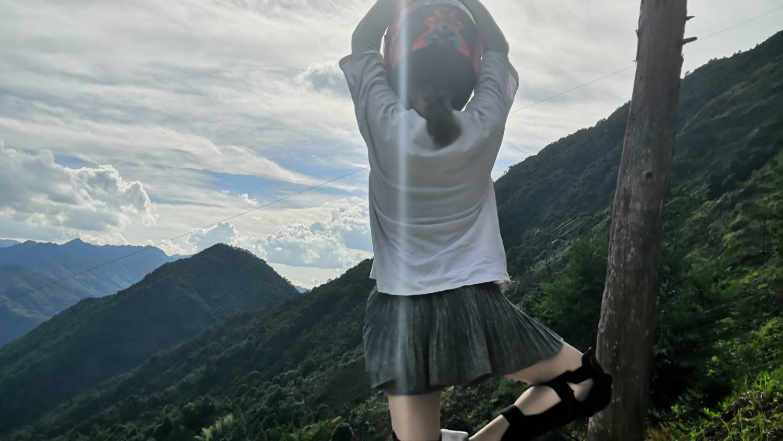 【云骑车NO.9】天宫山17公里山路骑行一镜到底无聊视频