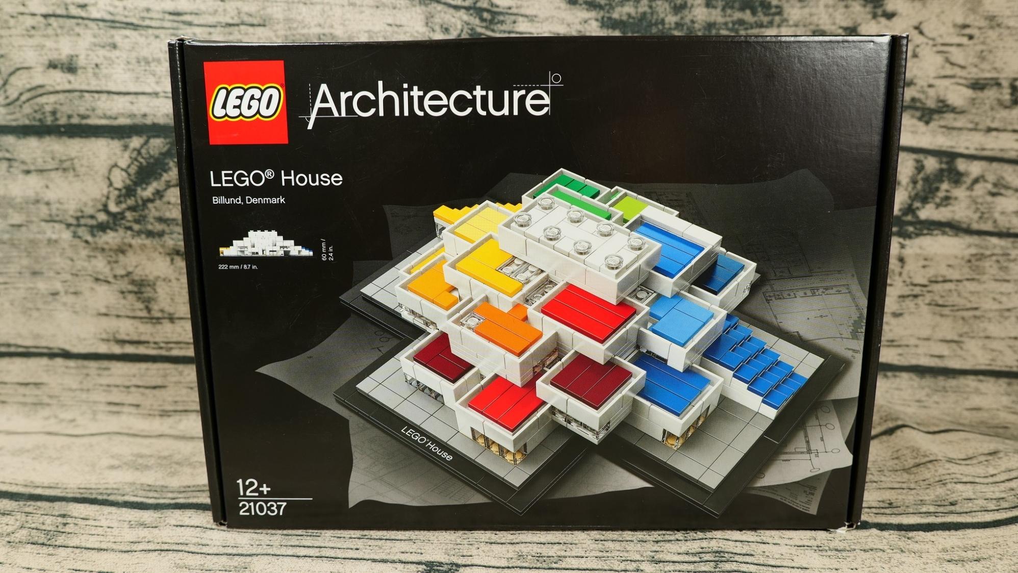 乐高搭建:乐高建筑系列21037乐高之家评测,1300多元值不值?