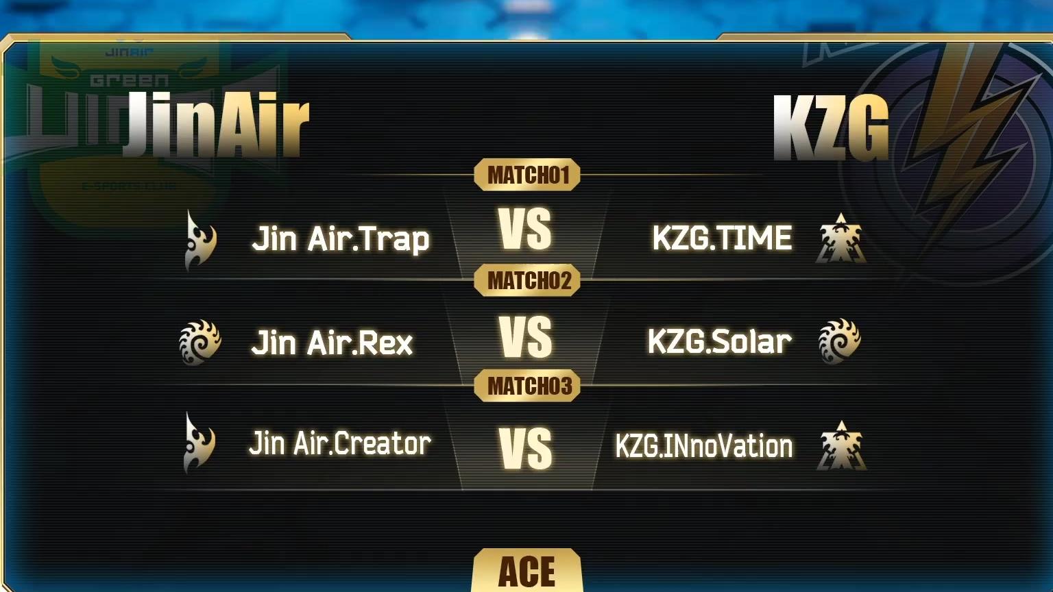 【星际2】8月10日黄金星际战队联赛2020赛季第1轮