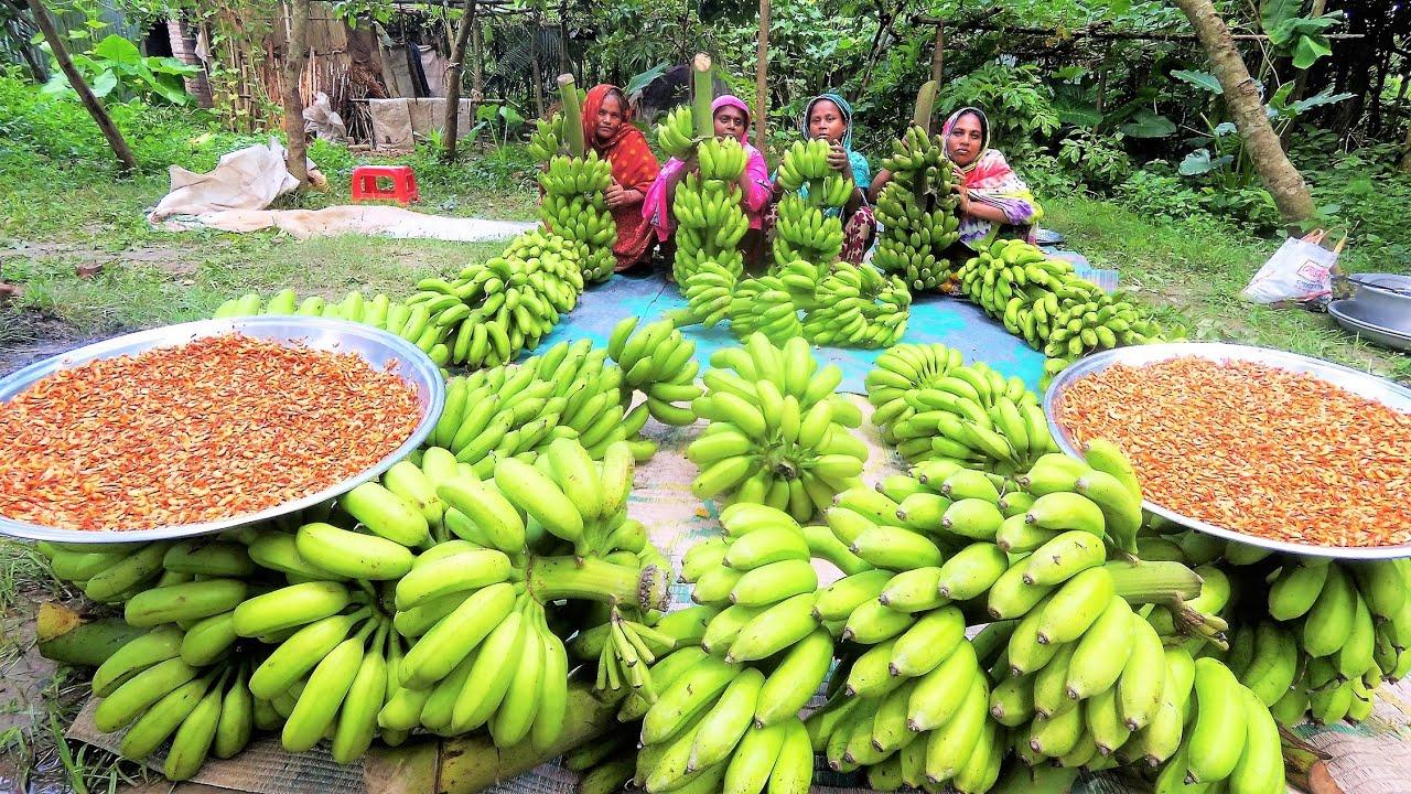 真实的印度农村,你一定没见过的香蕉还可以这么吃!