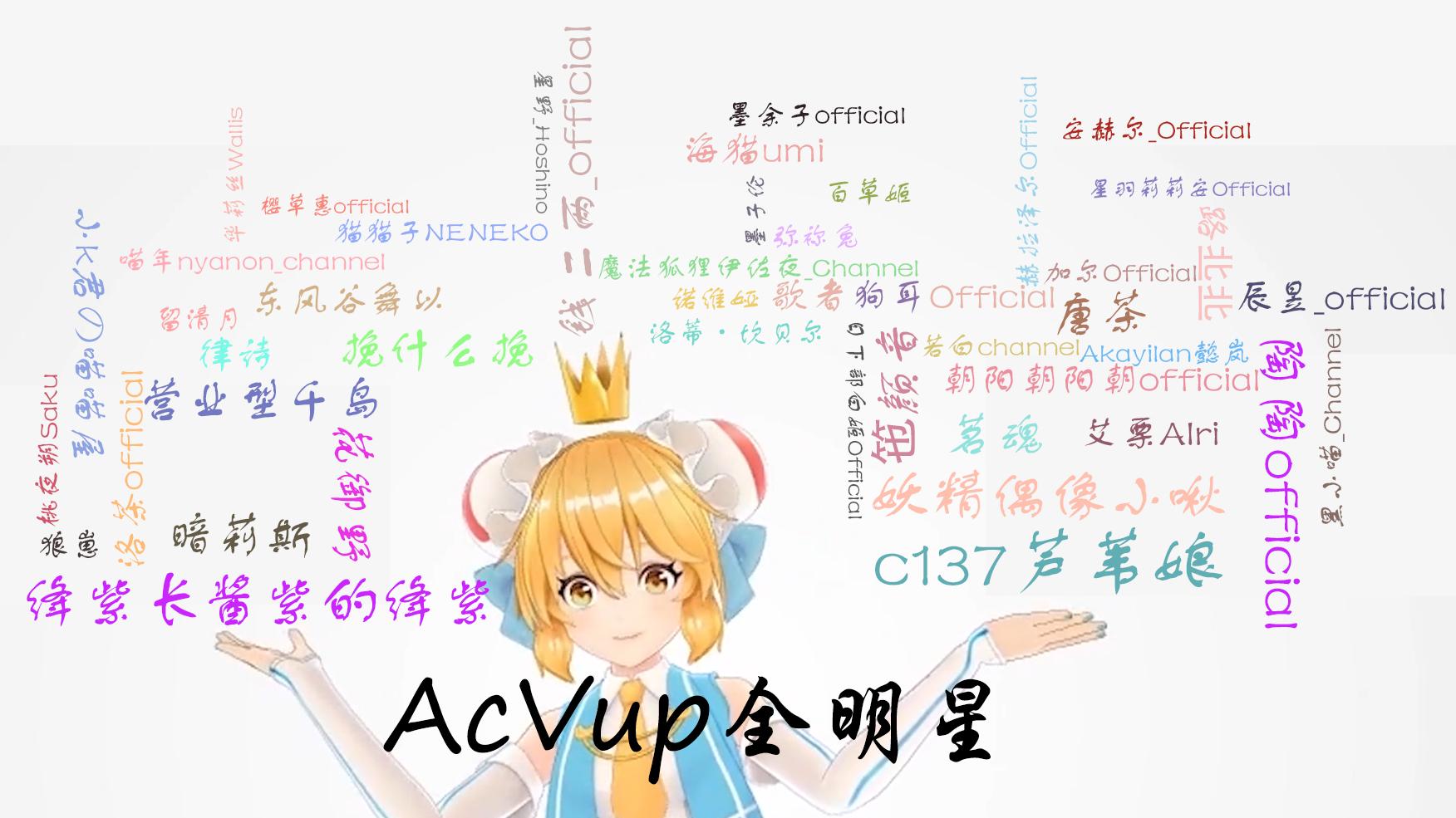 【AcVup全明星】火红的萨日朗