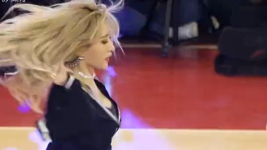 EXID上下(UPDOWN)后台:Hani直拍Fancam (KBL篮球全明星赛)