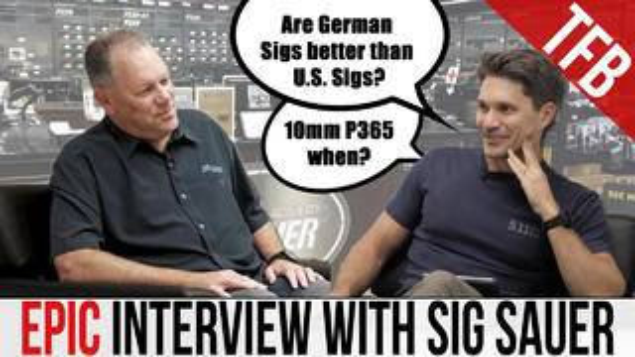 【中字】【TFBTV】面接西格绍尔先辈——网友想问西格的20个问题