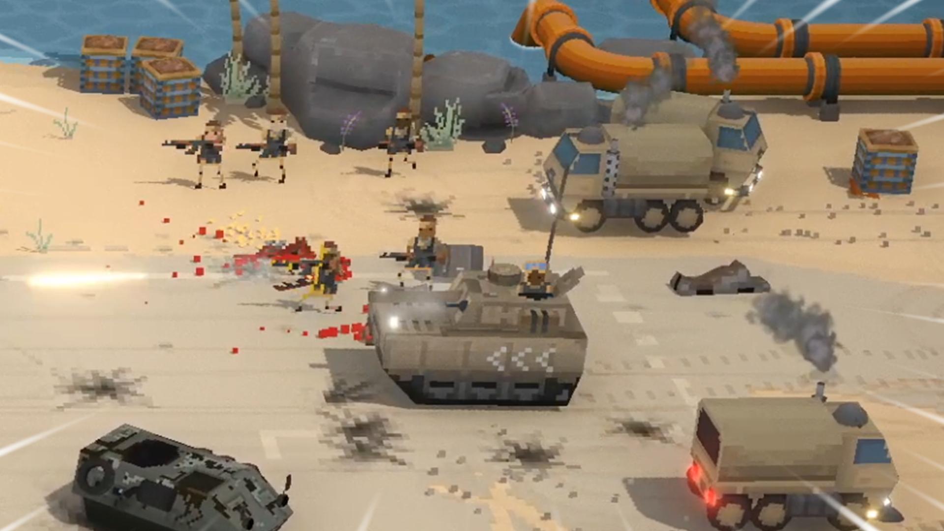 战争种子:中东悍匪都开上坦克了?就离谱!