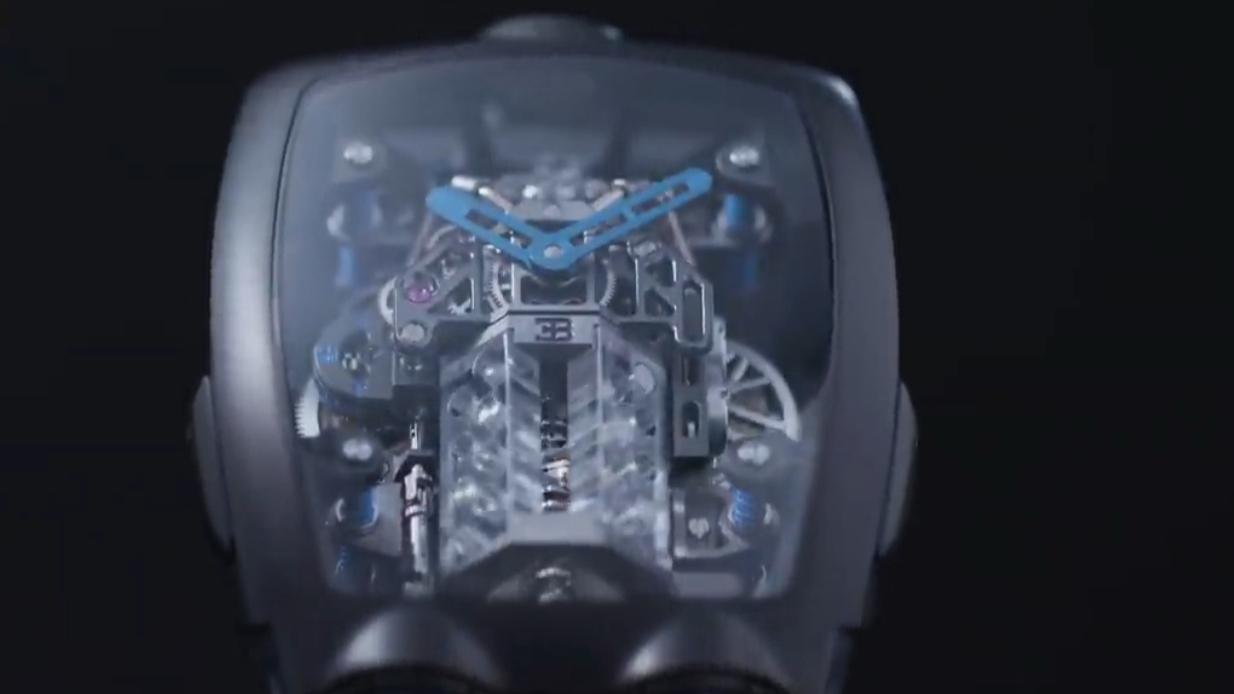 布加迪不好好造车做手表,内置16缸发动机,一块表顶一个法拉利