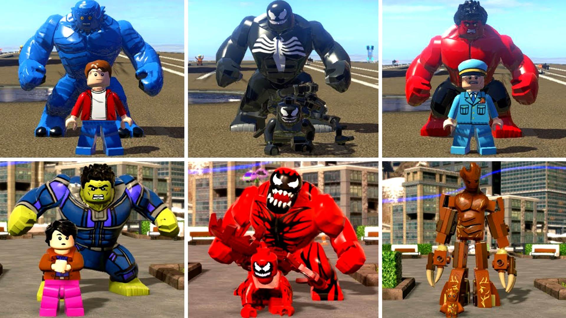 乐高游戏中那些会变身成怪物的动漫角色!