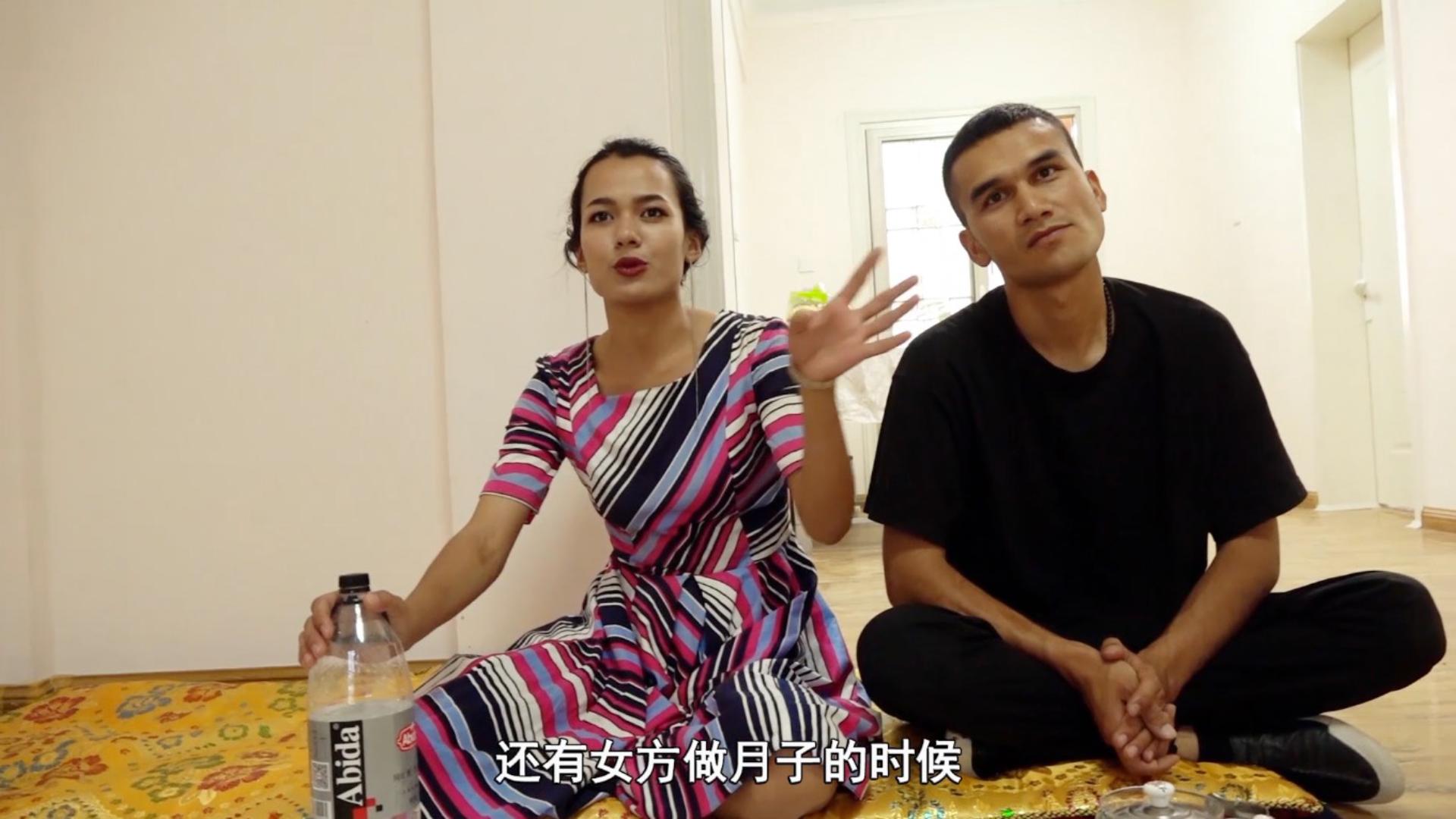 娶个新疆老婆是种什么体验?跟新疆小伙回家做客,这招待太丰盛了