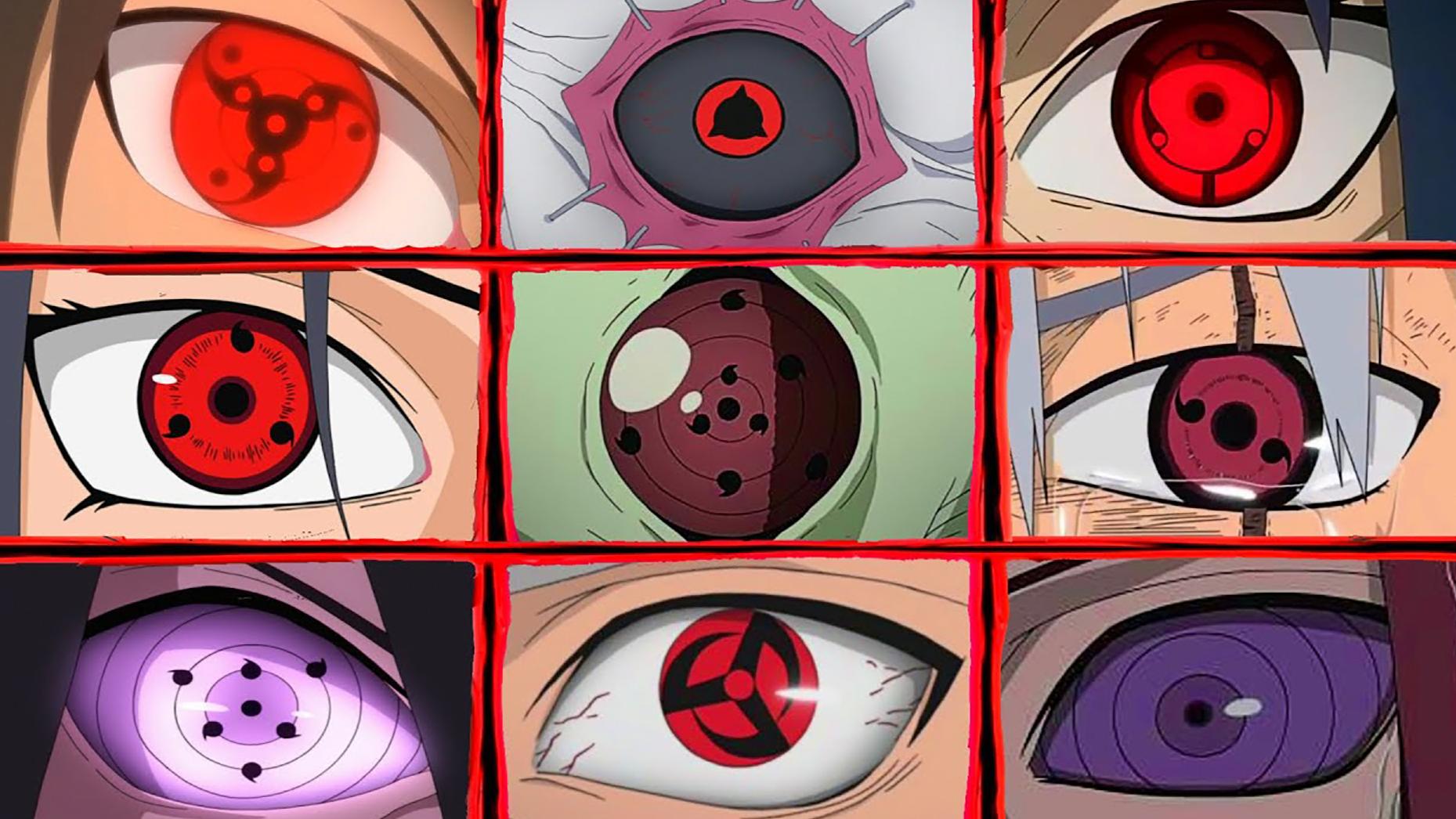 盘点《火影忍者》中宇智波一族不同形态的写轮眼!
