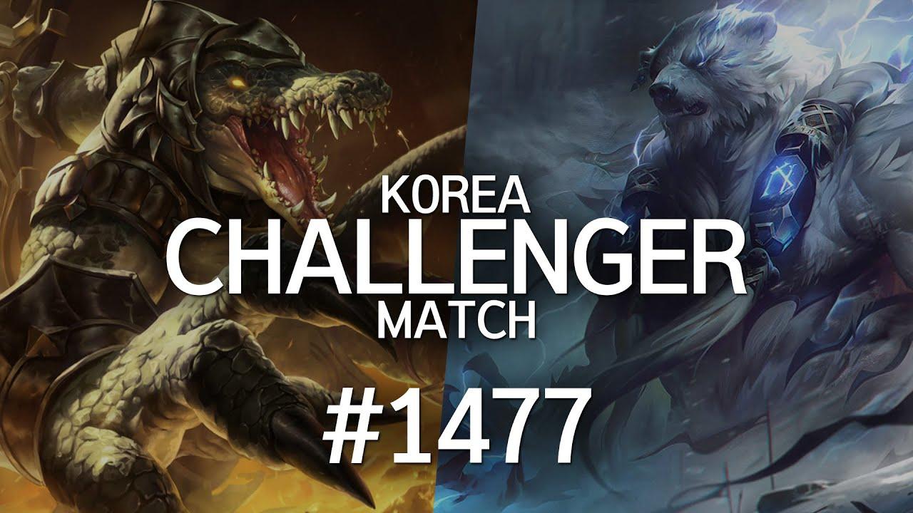 韩服最强王者菁英对决 #1477丨来了来了