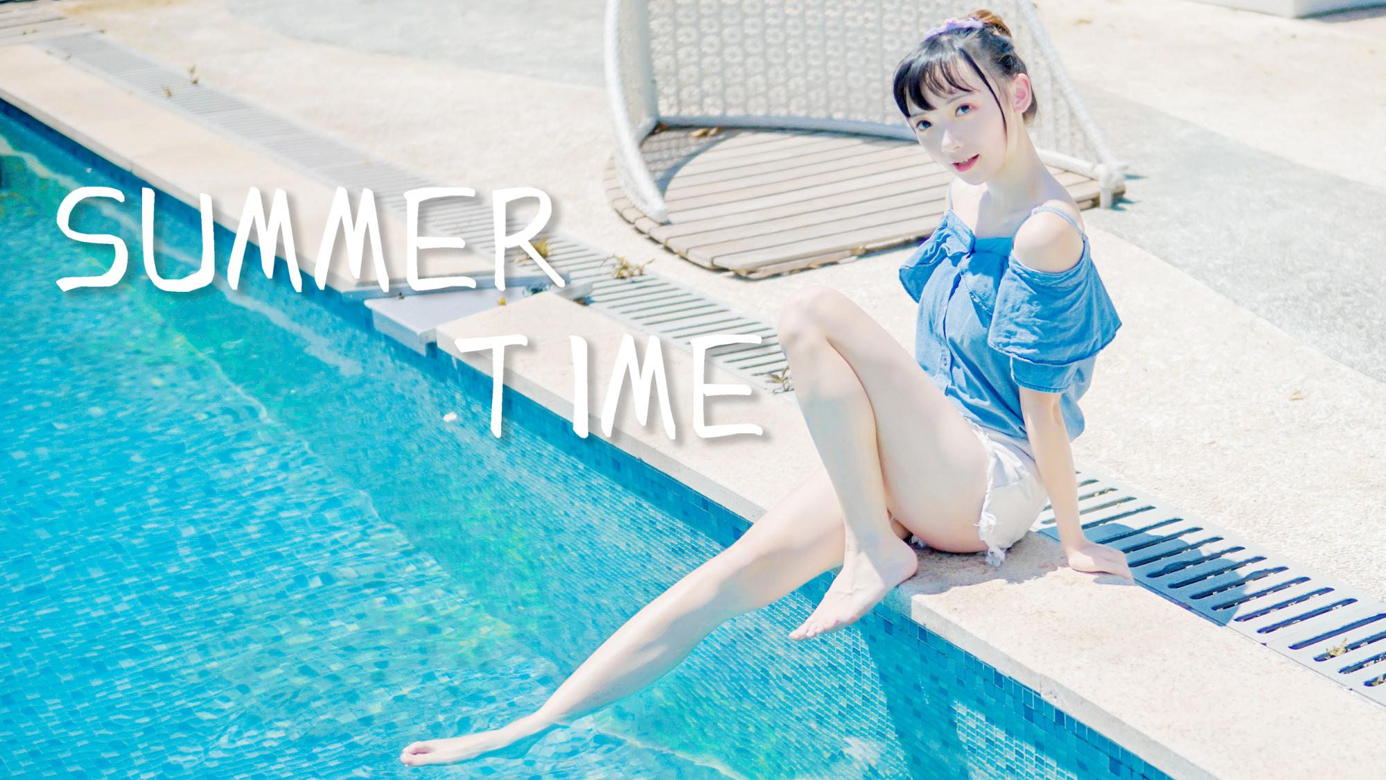 【独家★毛巾】Summer Time  一起来玩水吧~