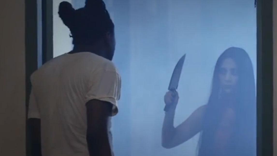鬼:这把刀是你掉的吗?