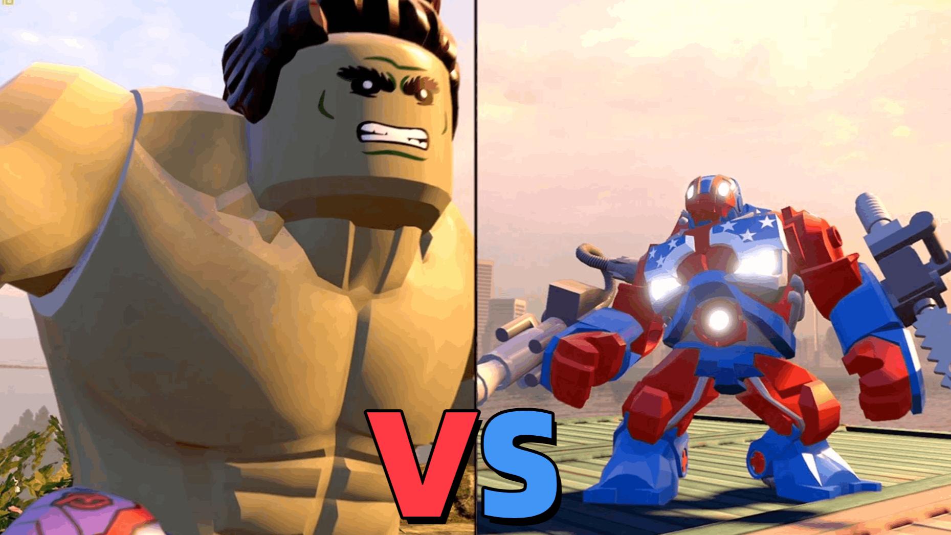 乐高游戏大战:绿巨人VS底特律钢铁巨兽!
