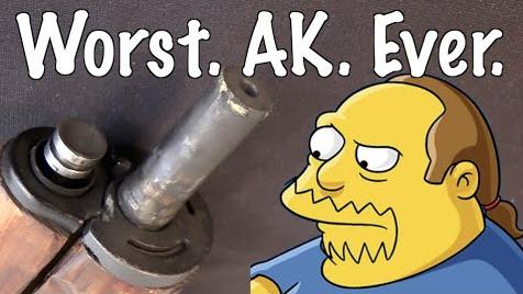 【想要遗忘的武器/双语】有史以来最垃圾的AK