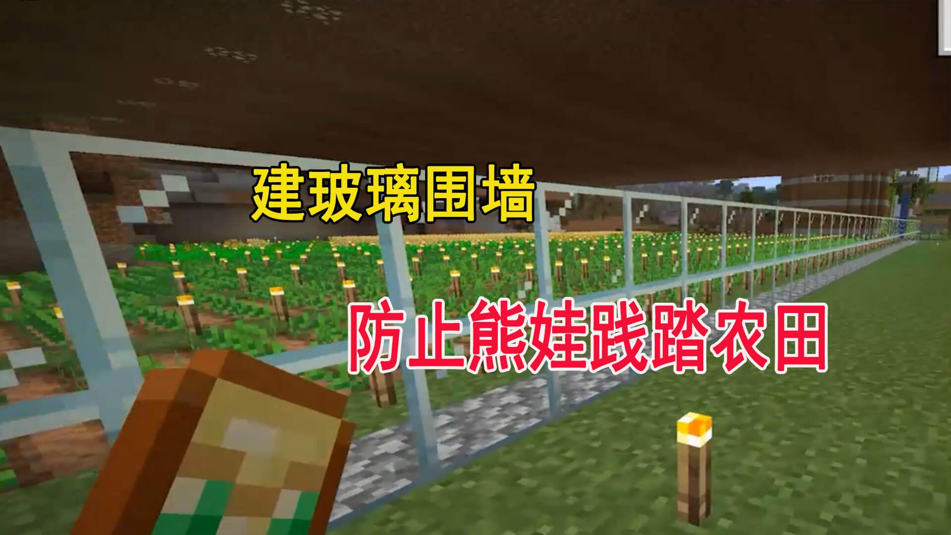 我的世界1.16联机54:铁块再次被迪哥回收,农场扩建一期项目完成