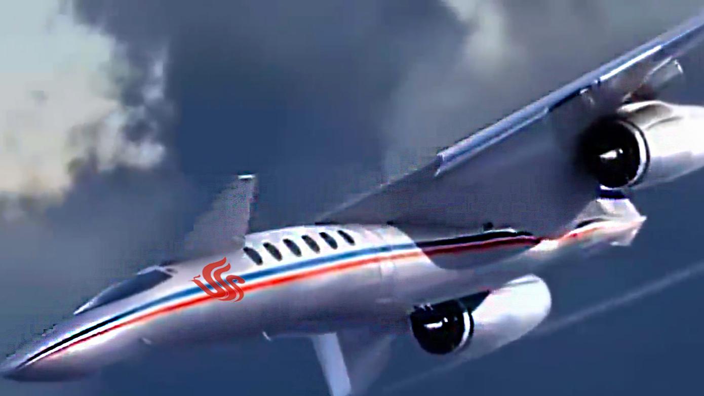 中国研发超音速飞机,时速6000公里,北京到纽约仅2小时