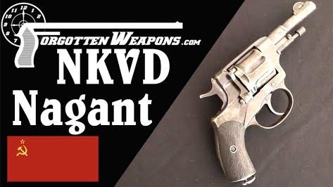 【被遗忘的武器/双语】苏联内务部的军官型纳甘转轮枪