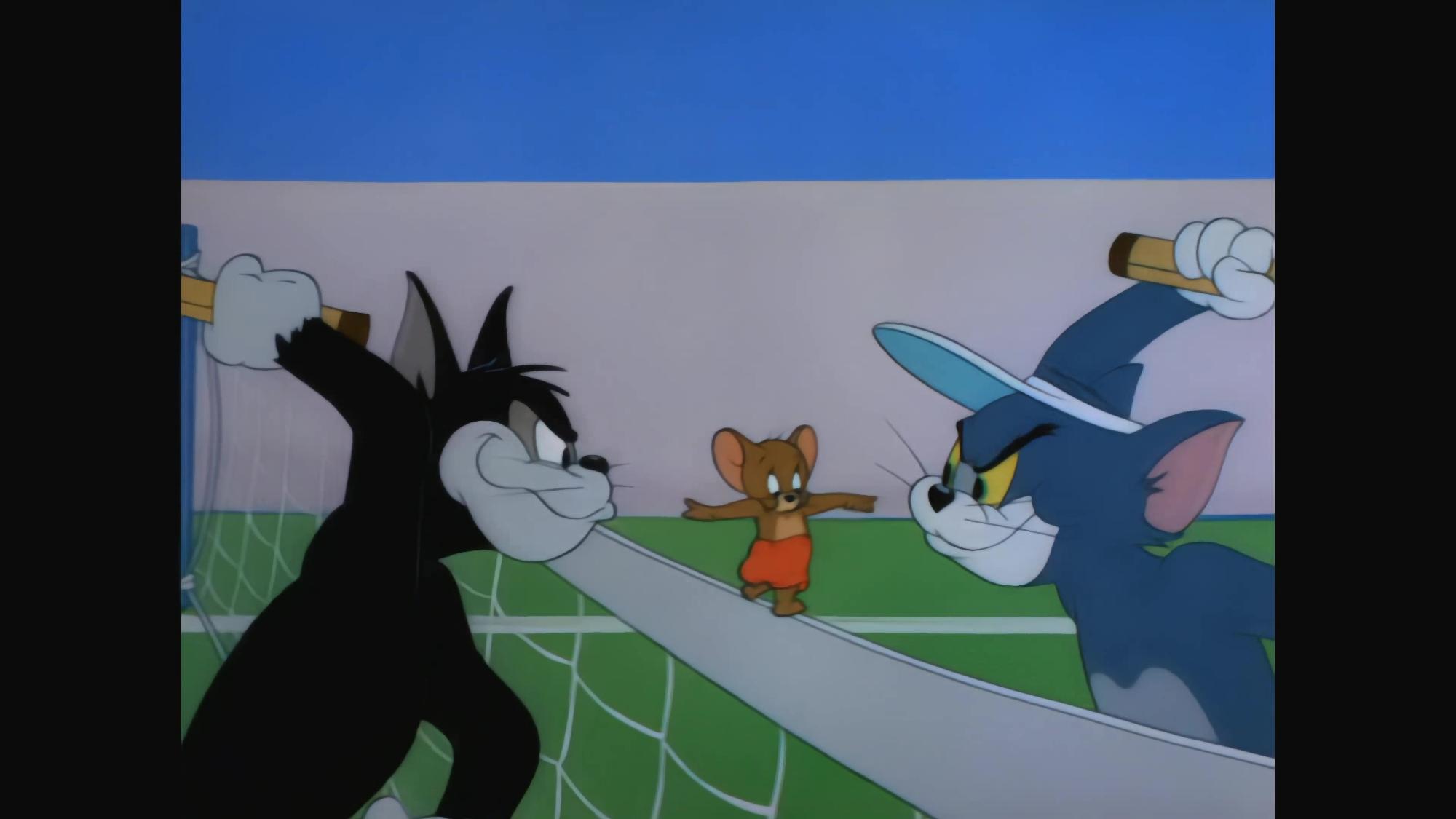 【4kai修复60帧】猫和老鼠-046 -网球白痴