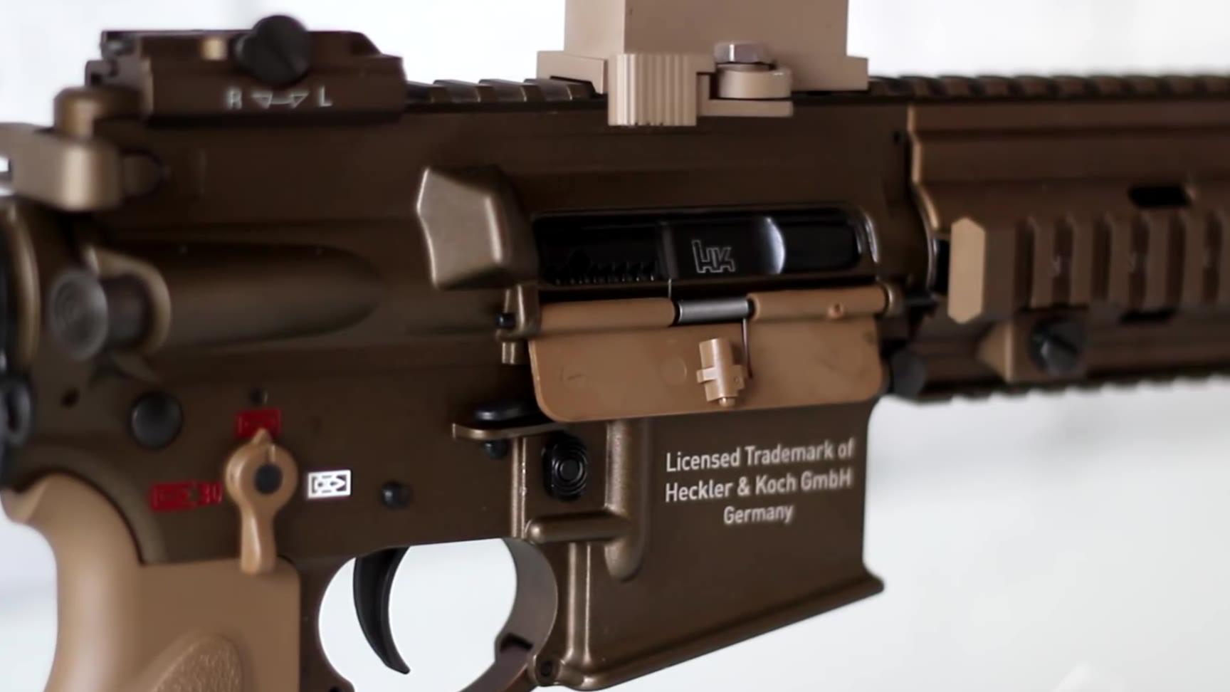 【弱鸡搬运】我酸了:HK官方授权 HK416 A5 Gas Blowback Airsoft