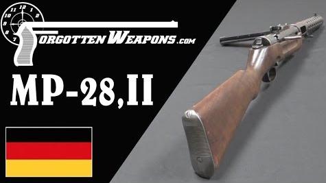 【被遗忘的武器/双语】MP-28,II--施迈瑟的改良版MP-18