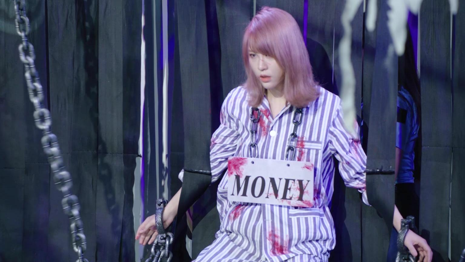 【SNH48】钱蓓婷舞台PV《黑与白》