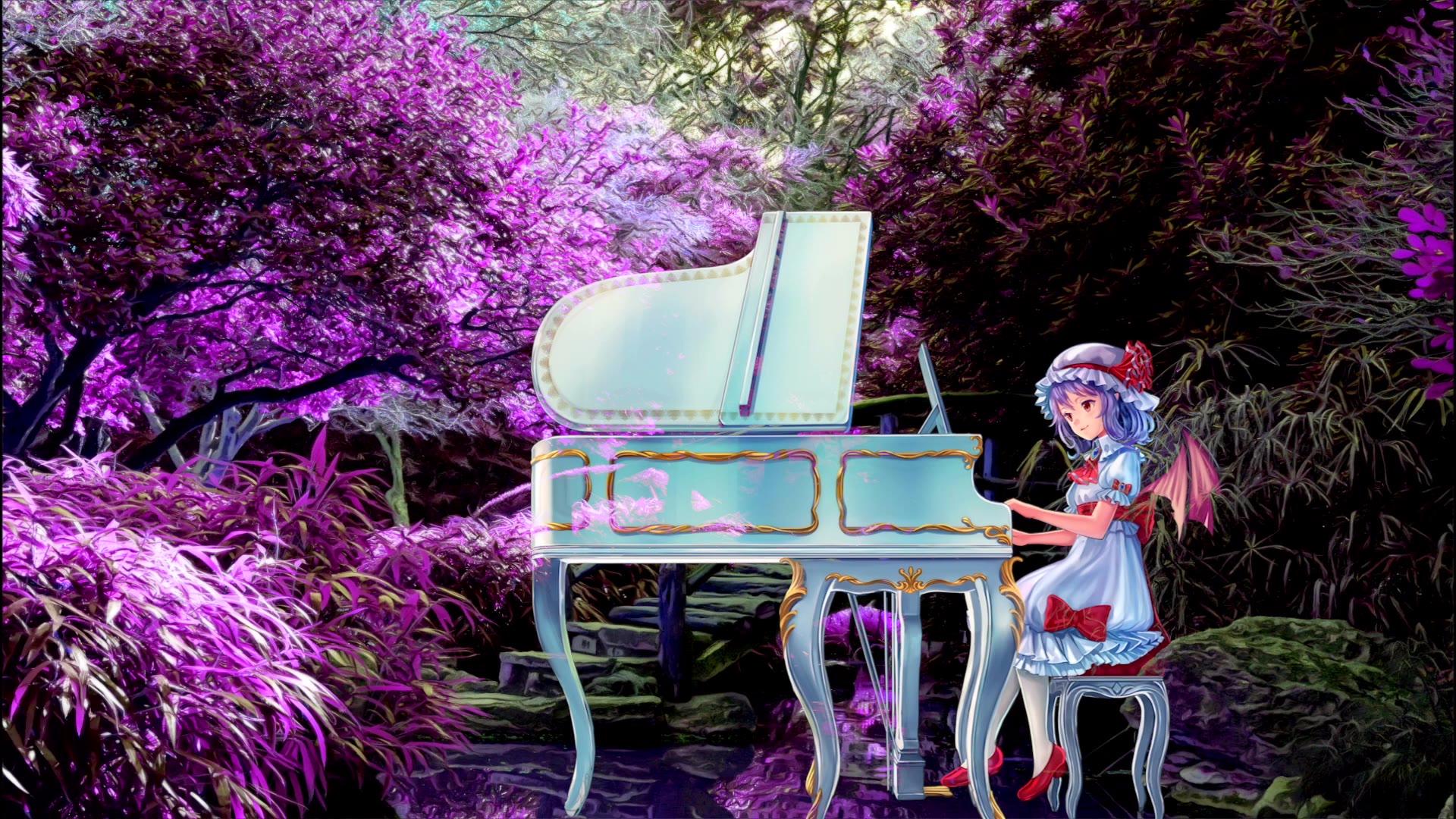 【东方】钢琴独奏 幽静深谧的幻想乡 1小时助眠LIVE演奏【TAMUSIC】