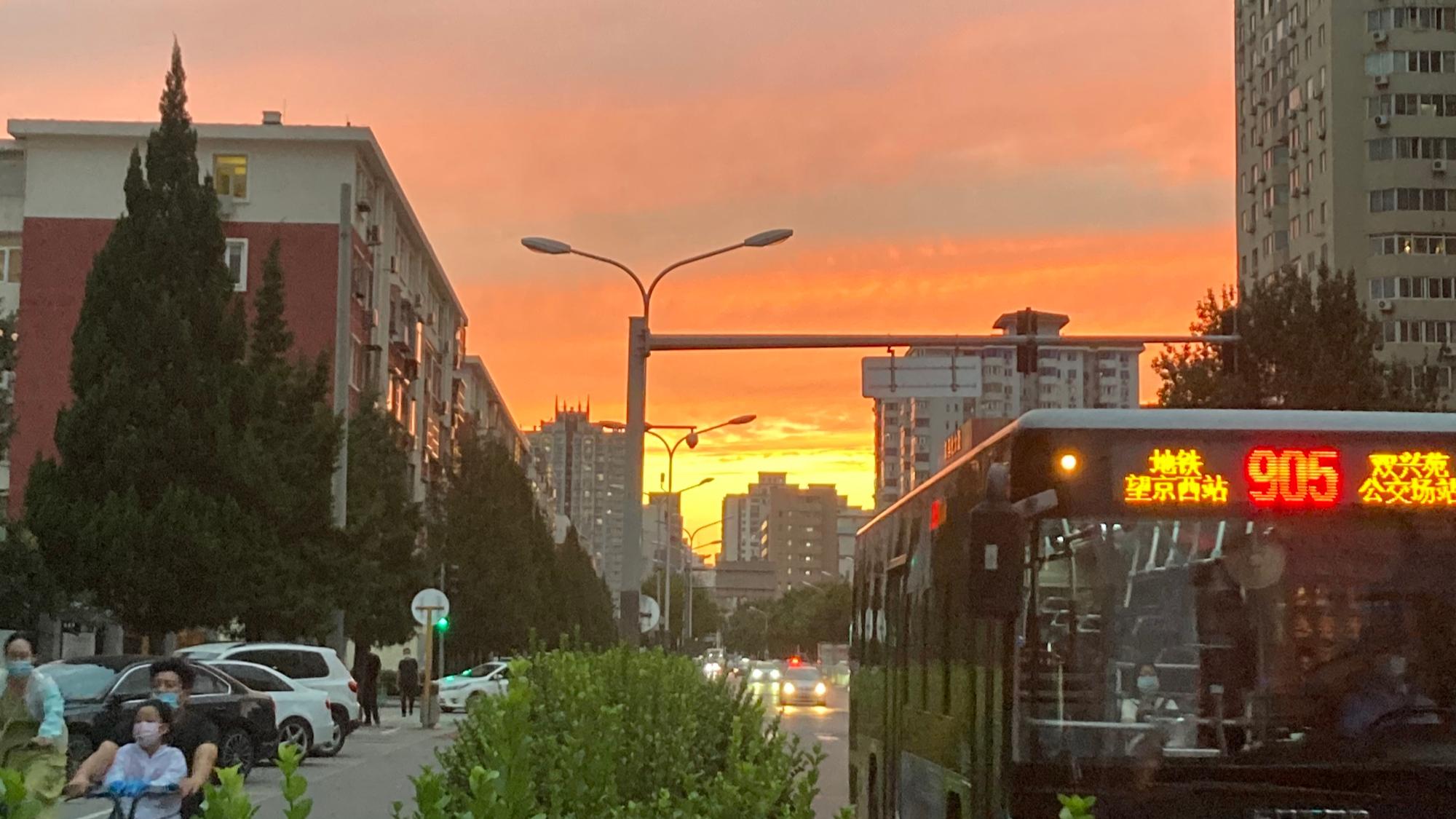 北五环的夕阳2
