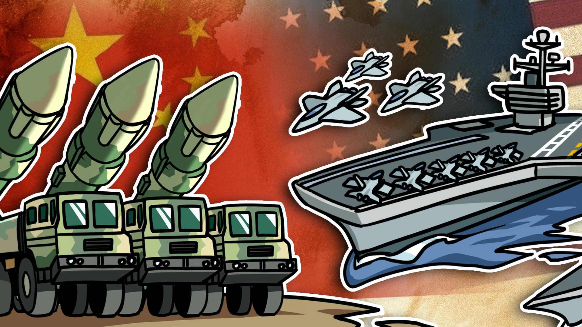 【大国角斗】中美爆发战争会怎样?核大战的门槛有多高?