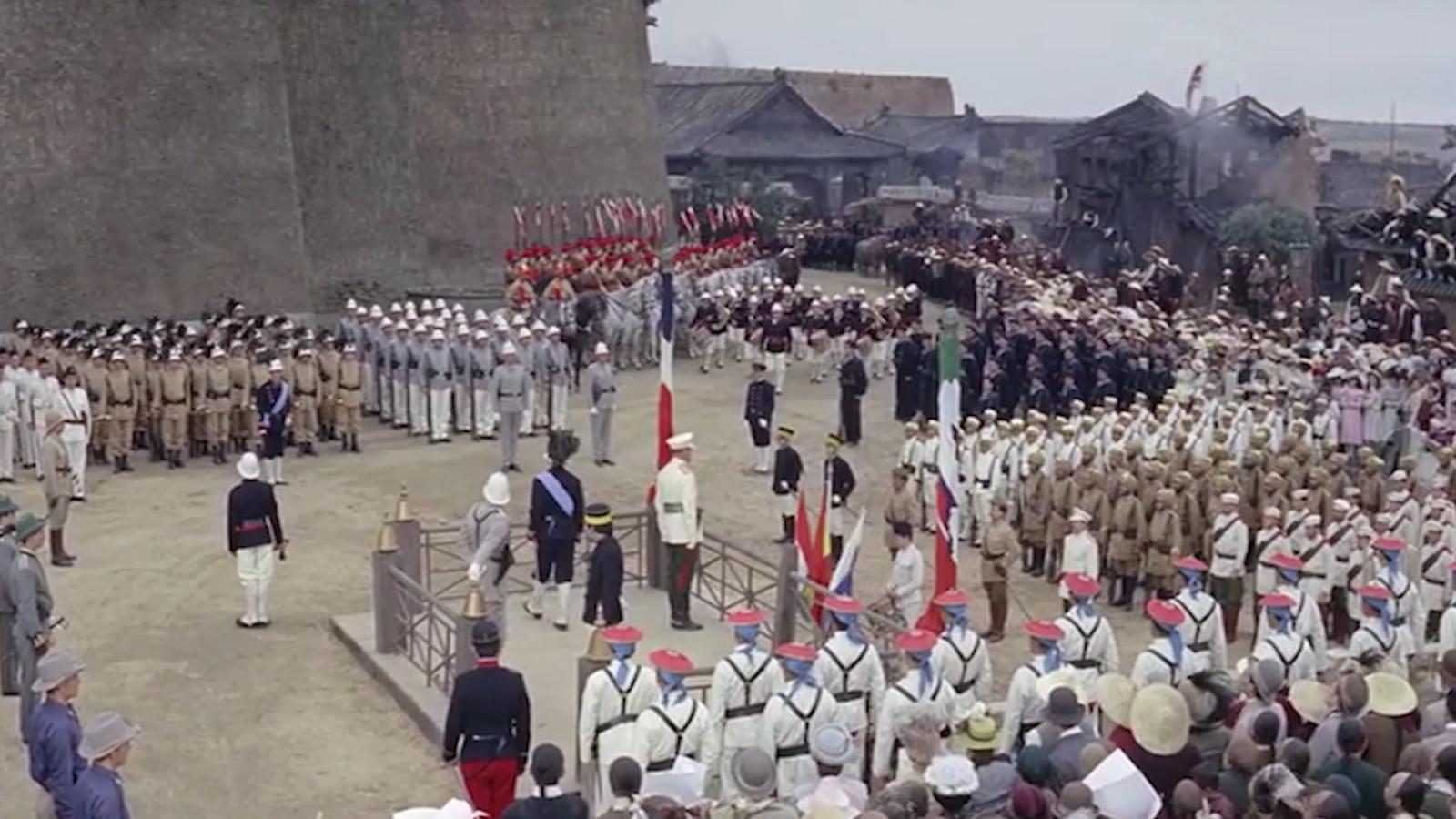 美国拍的八国联军侵华战争片,曾被禁多年