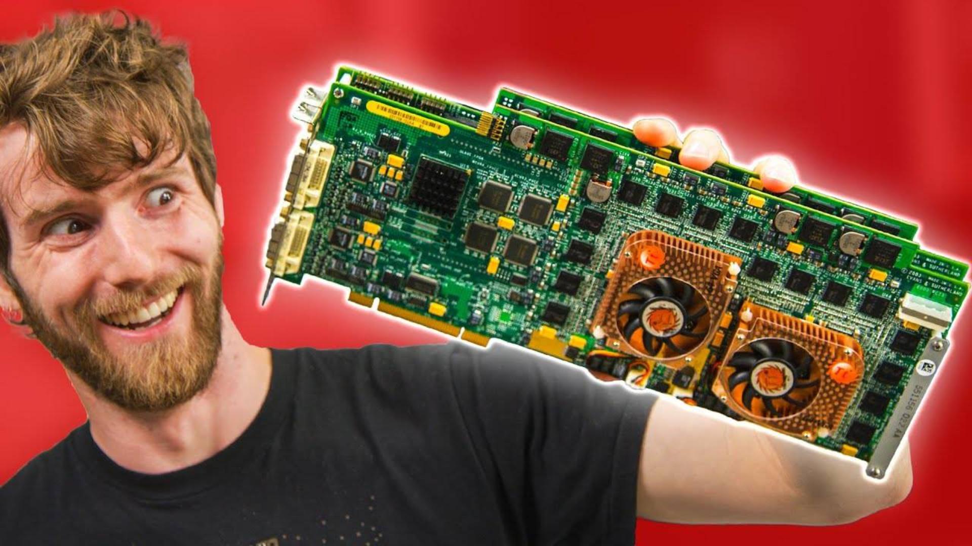 【官方双语】04款单卡四芯! - E&S SimFUSION 6500q#linus谈科技