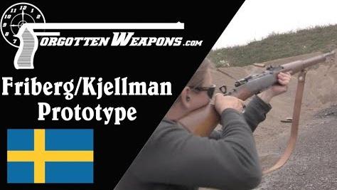 【被遗忘的武器/双语】弗里贝里-肖尔曼 卡铁偏移式半自动步枪原型