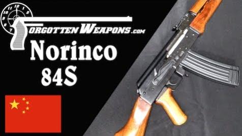 【被遗忘的武器/双语】北方工业84S--中国人造了把5.56mm的AK