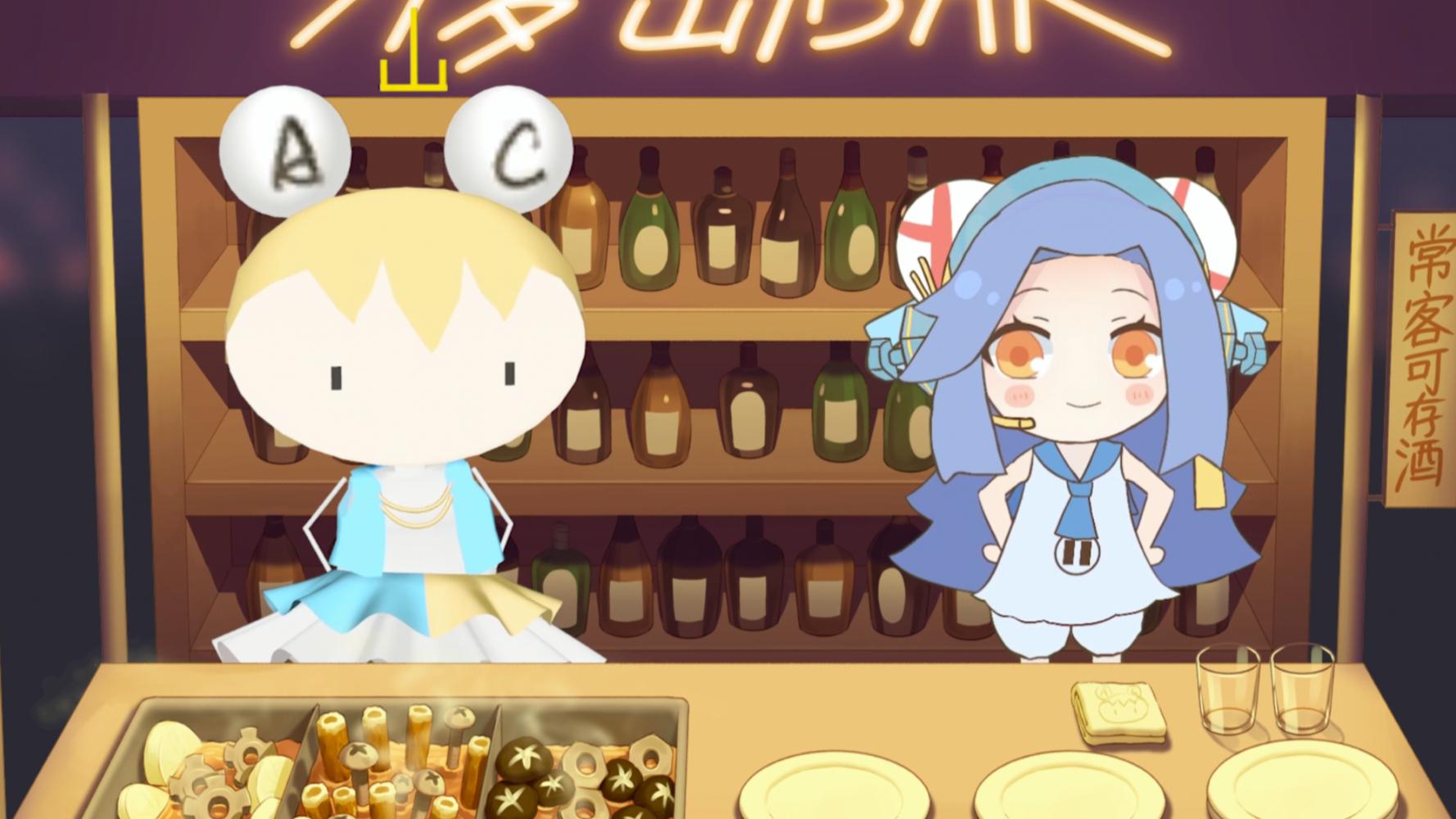 【AC娘】【周六狂欢24h】A梦x千岛!两大萝卜的初邂逅!