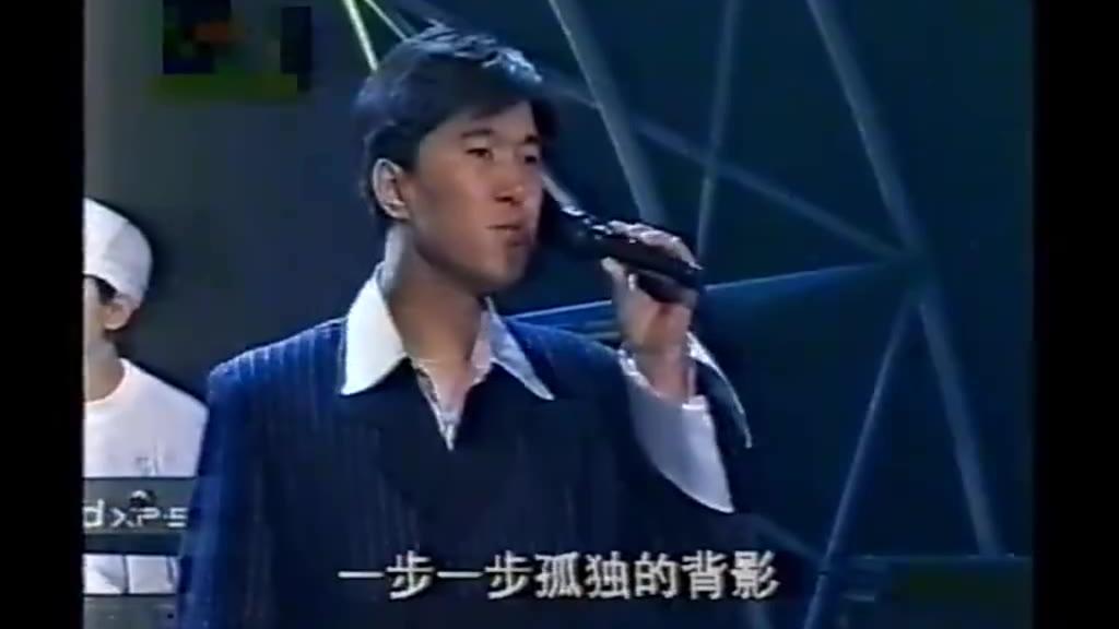 1996年青歌赛通俗唱法决赛,满文军演唱成名作《懂你》一举夺冠
