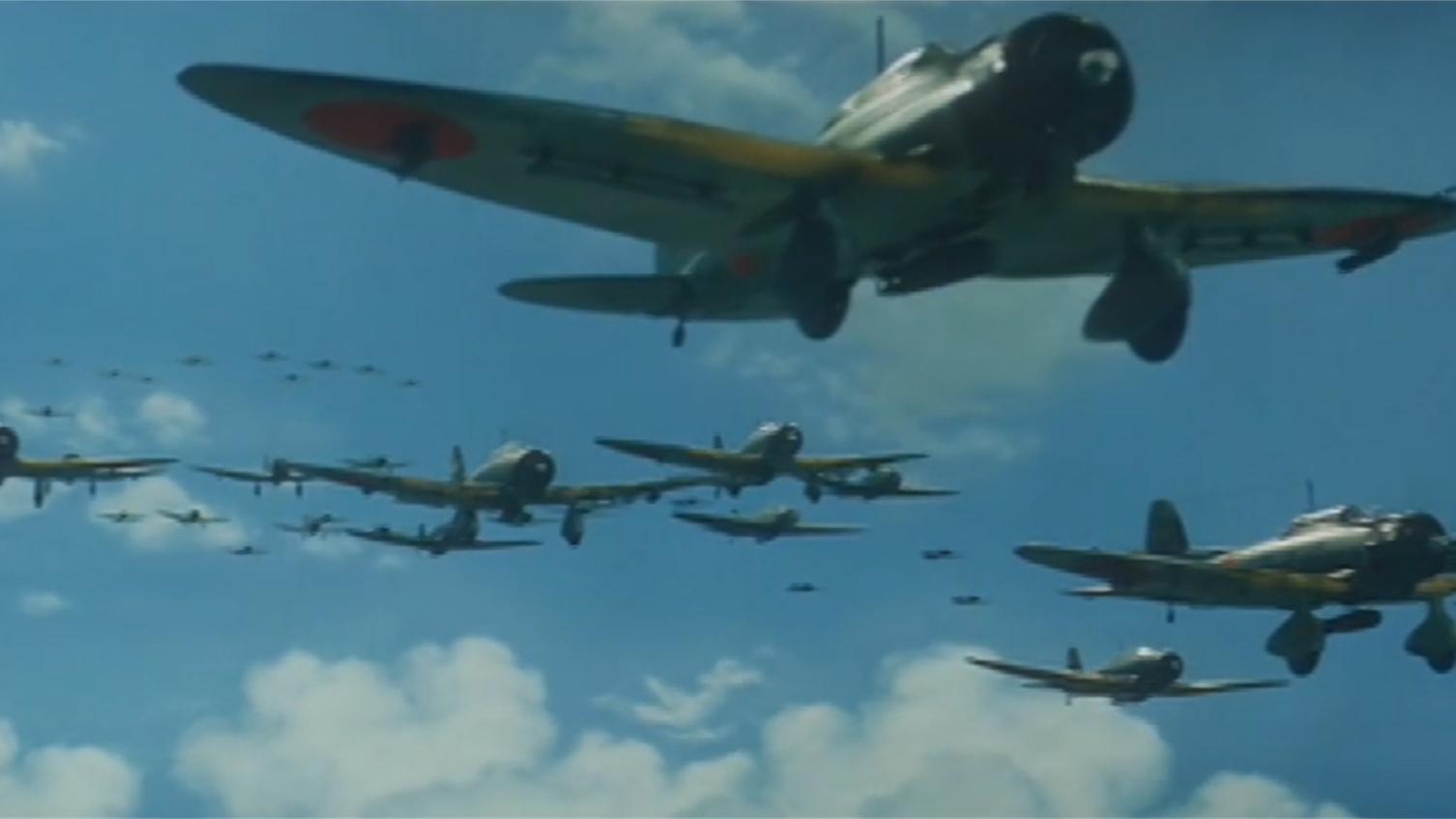 六十年代一部二战片,美国海军吊打日本联合舰队,击毙山本五十六