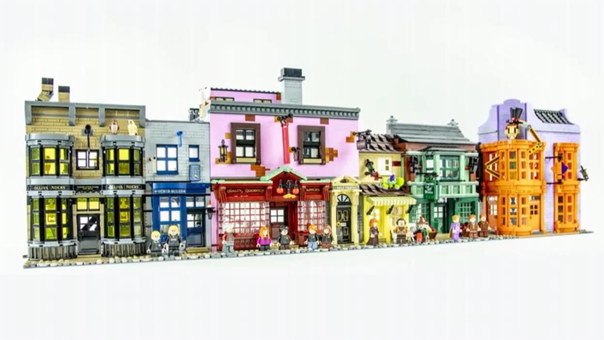 乐高 LEGO 75978 哈利波特 对角巷 2020速拼