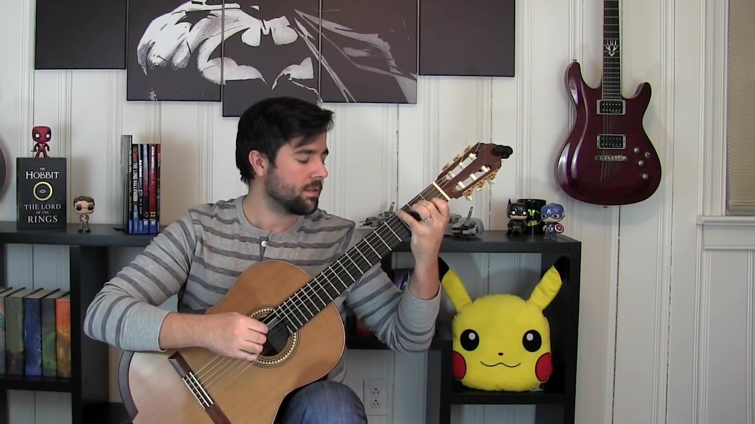 【指弹吉他】最终幻想15主标题音乐