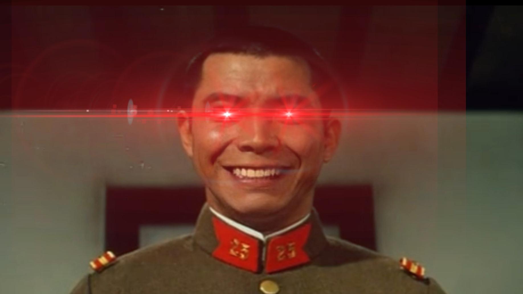 很有精神的陆军马鹿森下下士