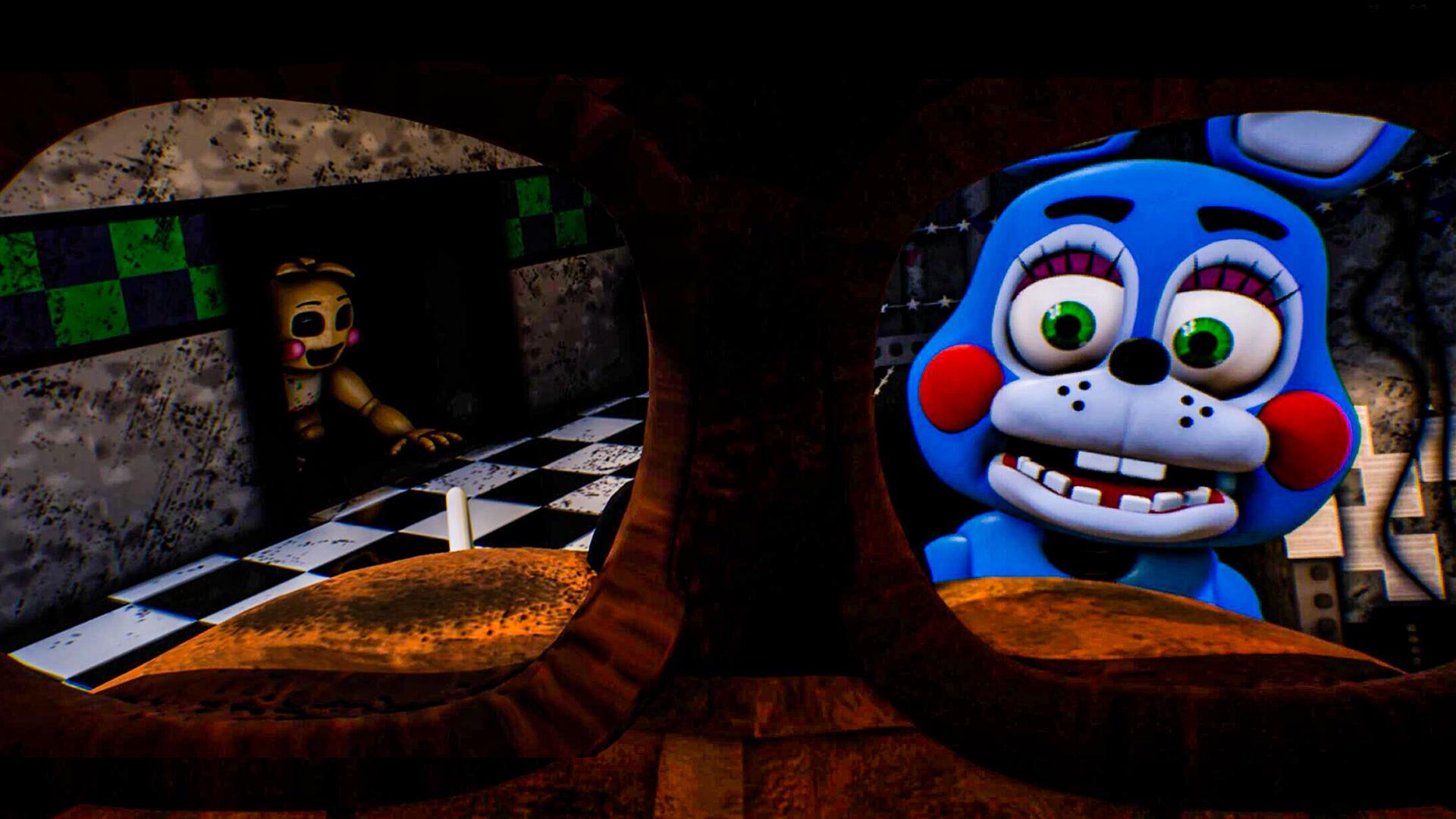 玩具熊VR版:新型玩具在第二夜疯狂袭击?极栗解说