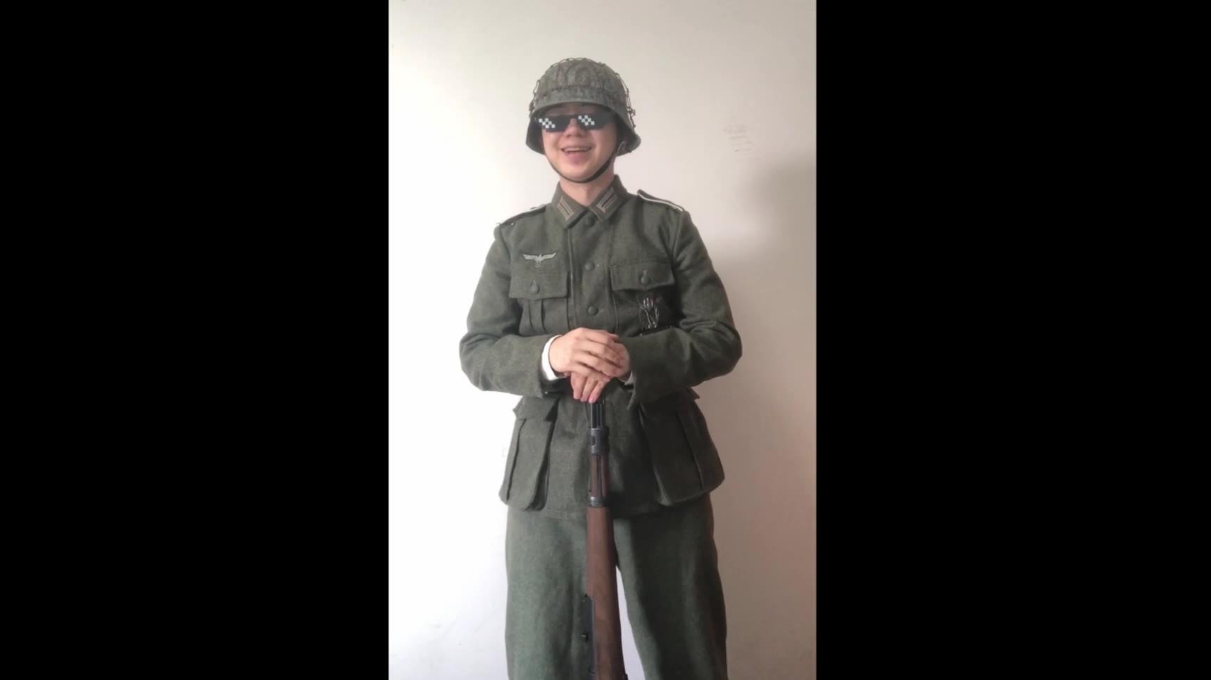 德军步枪操枪动作